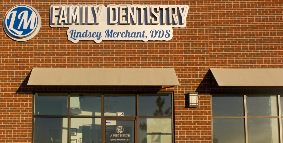 Outside of the LM Family Dentistry office