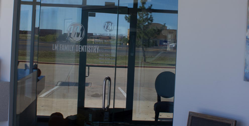 LM Family Dentistry Front Door